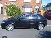 CHEVROLET LACETTI 2006 5 DOOR 1.6 MOT SEPTEMBER GENUINE LOW MILEAGE