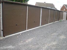 Lock-up garages / storage units to let