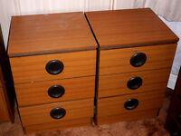 Retro Bedside Cabinets
