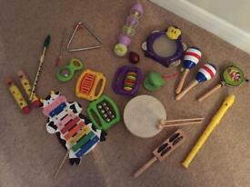 Musical instruments - children's