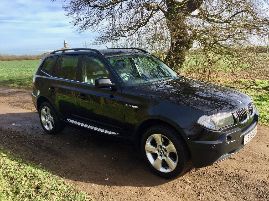 2005 bmw x3 se auto black full leather in eynesbury cambridgeshire gumtree. Black Bedroom Furniture Sets. Home Design Ideas