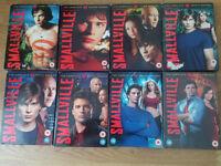 *~*Smallville Seasons 1-8 Complete Dvd Box Sets*~*