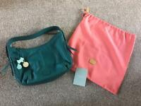NEW Genuine Radley Lisburn Handbag Medium Teal with Care Guide & Dust Bag Cost £159