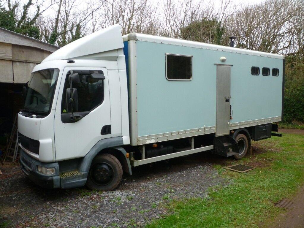 DAF LF 45 Motorhome Conversion Camper Motor Home 2004 Diesel Truck Lorry |  in Pembroke, Pembrokeshire | Gumtree