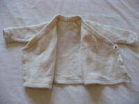 Top quality woolen baby coat