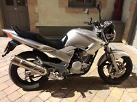 YAMAHA YBR 250- GREAT RELIABLE BIKE WITH LOW MILEAGE AND 12 MONTHS MOT