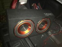1800W 12'' Twin Edge Subwoofer