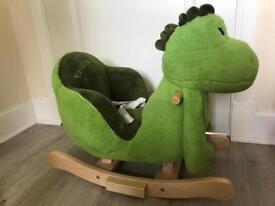 Dinosaur rocker baby rocking horse