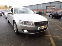 VOLVO S80 D5 [215] SE Lux 4dr Geartronic Auto (silver) 2014