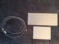 Apple Magic Keyboard + Apple Magic Trackpad 2 + 2x USB cables