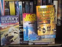 SCIENCE FICTION,FANTASY BOOK COLLECTION,JOB LOT,HARDBACK,PAPERBACK,ALL GOOD,SOME AS NEW,MANY UNREAD