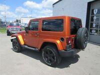 2011 Jeep Wrangler Sahara, 6 speed, No accidents, tint, Black wh