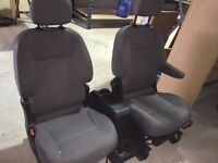 Citroen berlingo seats and center console