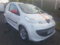 Peugeot 107 xs Sport 1.0 litre, Full Service History, Ideal First Car cheapest on the net