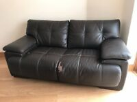 FREE 2 SEATER LEATHER SOFA FROM SCS 2 YEARS OLD