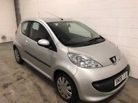 PEUGEOT 107 1.0L URBAN 2008/08, 38000 MILES, HISTORY, WARRANTY, FINANCE AVAILABLE, £20 ROAD TAX