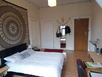 Big DOUBLE ROOM available for July and August in Glasgow city centre. 330 pound/month