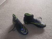 Junior Nike Sock Football Boots - UK Size 4.5