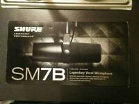 Shure SM7B Professional Cardioid Vocal Microphone