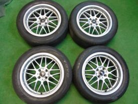 """AS HIGHSPEED 16"""" ALLOY WHEELS TO FIT MINI COOPER"""
