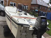Mayland sports /fishing boat