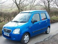 Suzuki Wagon -R GL Bi-Fuel Single Berth Micro Camper