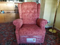 Medina Lift and Rise / Recliner Dual Motor Arm Chair as new