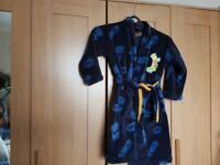 Boys M and S dressing gown age 6-7