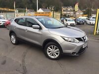 NISSAN QASHQAI 1.5 dCi Acenta (Smart Vision Pack) 5dr (silver) 2014