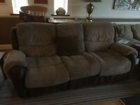 Two sofas, - free to collector