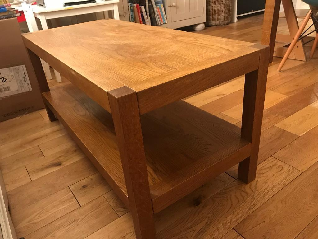 Brompton Solid Oak Coffee Table From Laura Ashley