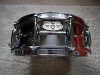 Pearl Sensitone Elite Steel Snare Drum 14x5