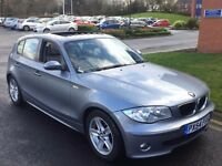 BMW 1 SERIES 120D M SPORT,HPI CLEAR,ELECTRIC SUNROOF,FULL BMW SERVICE,PARKING SENSORS,LEATHER TRIM