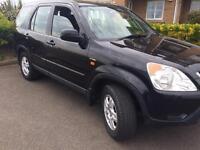 Honda CR-V sport 2003 black 5 door 2.0 petrol private number plate