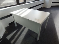 1200mm width office desks in the best colour white!