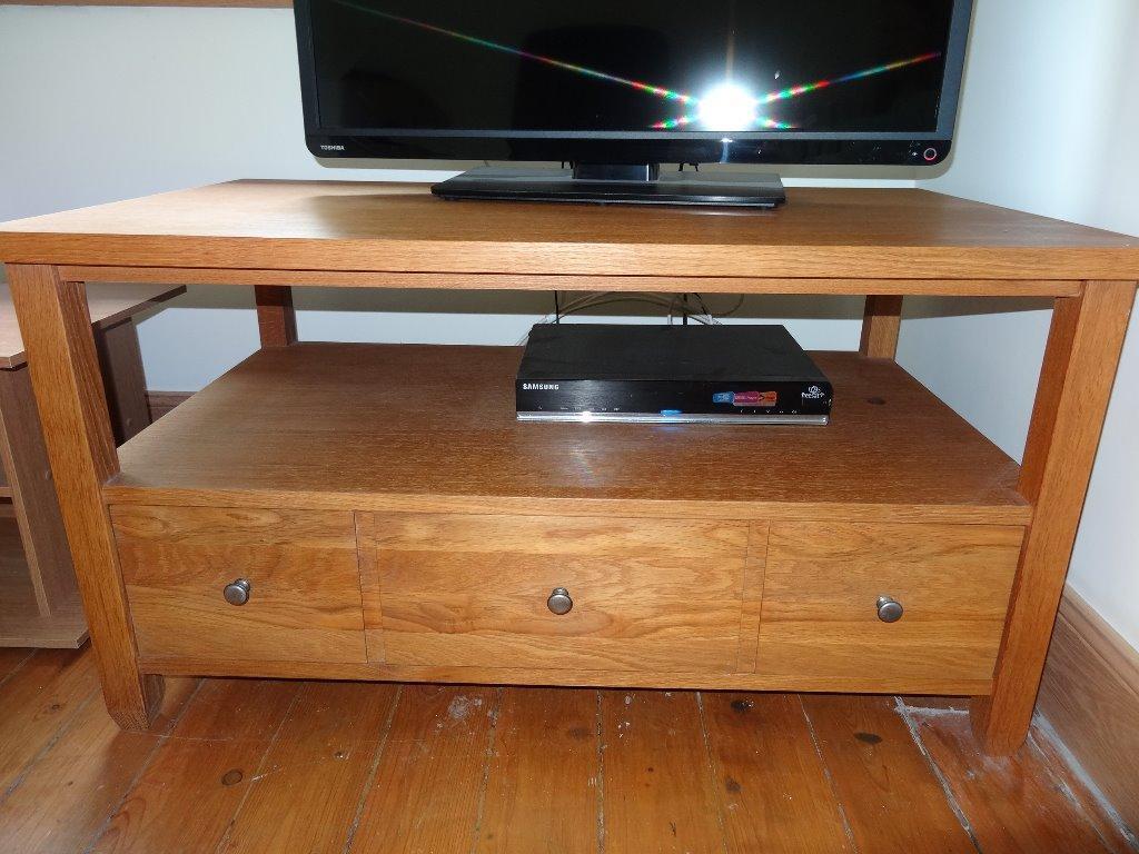 Beautiful Next Solid Oak Tv Unit Table In Bearsden