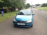 VAUXHALL CORSA 1.4i 16v COMFORT 3dr AUTOMATIC,LONG MOT,VERY LOW MILEAGE,VERY GOOD DRIVE, GOOD TYRES