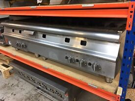 Falcon Chargrill 5 Burners 1.5m with Stand