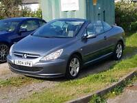 Peugeot 307cc convertible just had service and tyres CLIMATE CONTROL electric roof