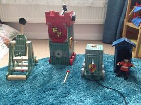 Le Toy Van wooden castle toys