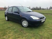 2004 FORD FOCUS 1.4 BLUE ONE YEARS MOT SERVICE HISTORY