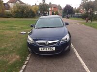 2012 Vauxhall Astra 1.7 --- CDTi 16v Active 5dr --- HPI clear ---