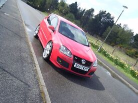 2007 57 VW GOLF GT TDI SPORT 170 FSH LONG MOT VERY CLEAN SMART DERV BOOSTER WITH MODS MAY PX