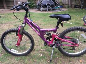 Girls' bike Apollo FS-20 20 inch wheels
