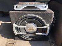 JBL 1000W Sub&Amp