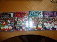 South Park Complete Seasons 1-4 DVD Box Set - Just £3!