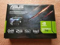 NVIDIA GEFORCE 2GB HDMI, DVI, VGA GRAPHICS CARD. Boxed in perfect working order