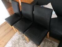Black Chairs