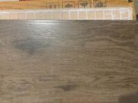 Woodgrain ceramic tiles colour code is Celeste nutmeg
