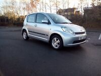 2007 Daihatsu Sirion 1.3 Se Automatic Full Mot Service History Superb Brilliant Drives Hpi Clear